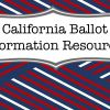 2016 Election: What's On The California Ballot?