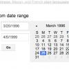 My Favorite Things: Date Range Filtering
