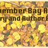 November Author and Literary Events