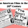 African American Cinema in the Early 20th Century