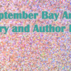 September Bay Area Literary and Author Events