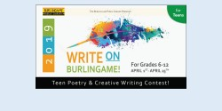 Write On! Teen Poetry & Creative Writing Contest