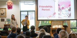 Author Visit: Lily Williams and Kate Schneemann