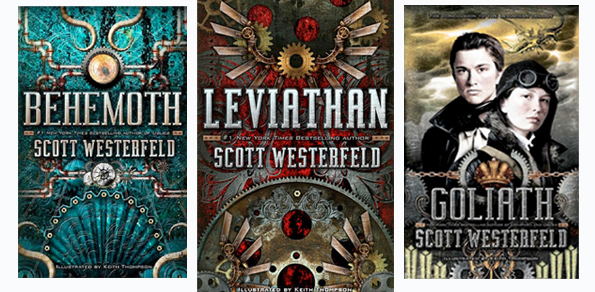 Scott Westerfeld's Leviathan series reviewed by Casti ...