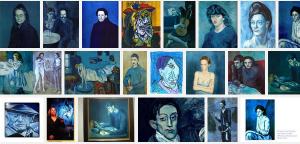 picassos blue period