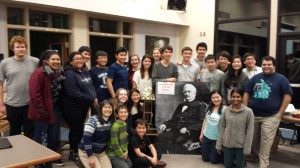 Carlmont's winning team 2014