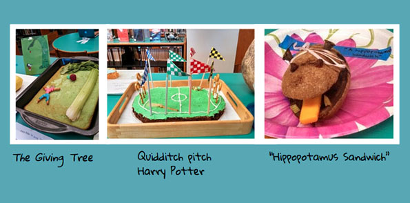 Edible book festival examples 2014