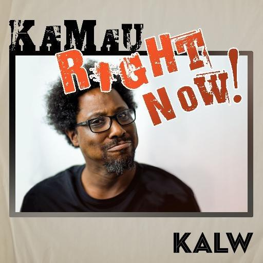 Kamau Right Now! promotional picture