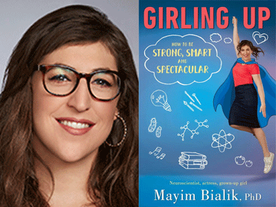 Mayim Bialik and her book
