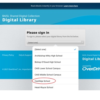 illustration of how to update your libraries in Overdrive